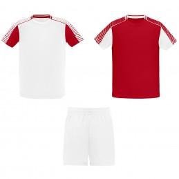 Echipament Joc alb/rosu