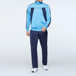 Gym suit - light blue/navy...