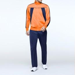 Gym suit - orange/navy blue