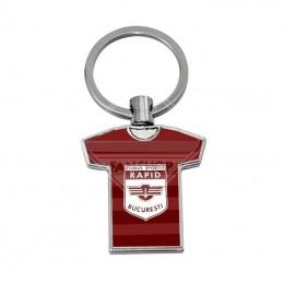 T-shirt metalic keychain